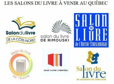 Les salons du livre en 2018 au Québec