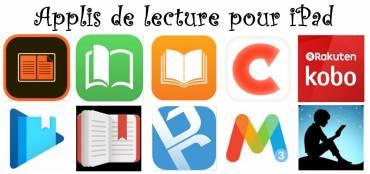 10 applications pour lire des ebooks (livrels) sur tablette iPad