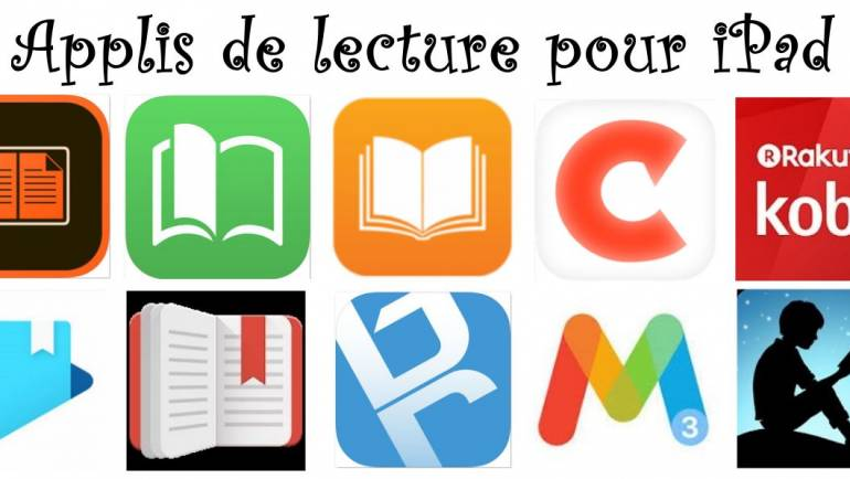 10 APPLICATIONS POUR LIRE DES EBOOKS (LIVRELS) SUR TABLETTE IPAD