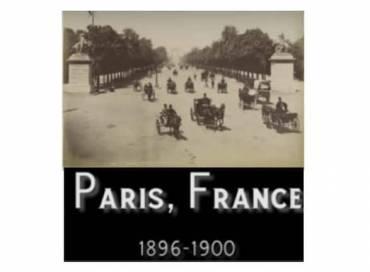 Paris à la Belle Époque. Comme si vous y étiez!