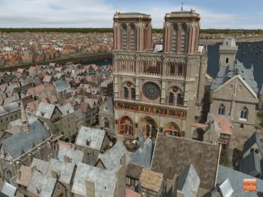 Paris au Moyen Âge : en suivant un vol d'hirondelles