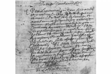 Métier : bourreau. 1649 à 1733